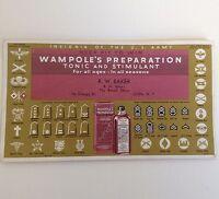Vintage Blotter Ilion NY Wampoles Preparation Tonic Antique Advertising