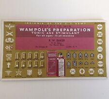Vintage Blotter Ilion Ny Wampoles Preparation Tonic Antique Advertising