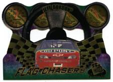 1998 Press Pass Premium Flag Chasers Die-Cut #FC24/27 Jeff Gordon NASCAR Card