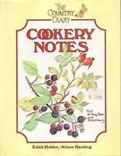 The Country Diary Cookery Notes-Alison Harding, Edith Holden