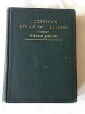 Tennyson's Idylls of the King Ed. by William J Rolfe c1896 Rare Book