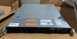 1U Intel S1600JP 4 Bay LFF Xeon E5-2650 V2 8 Core 2.6Ghz 500GB 2x PCI-E x16 2PS