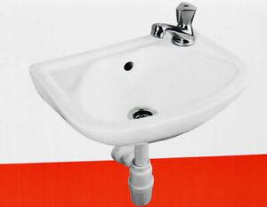 Waschbecken Keramik für Gäste WC Waschtisch Mit Kaltwasserarmatur