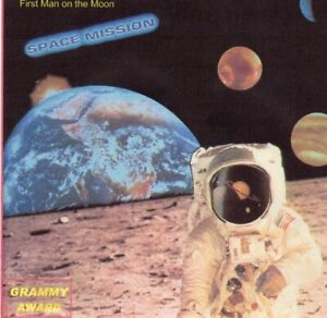 SPACE MISSION - Apollo 8 AND 11 Astronauts - First Man On The Moon CD