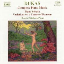 Dukas: Complete Piano Music, New Music