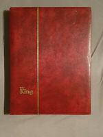 """Album """"King"""" mit Briefmarken aus der DDR, Deutschen Demokratischen Republik"""