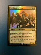 Knight of Autumn Foil Promo Pack Guilds of Ravnica MTG