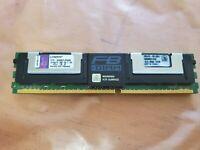 Kingston KTD-WS667LPQ/8G 4GB 4Rx8 PC2-5300F 667MHz Memory - 1 stick