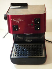 Starbucks Barista Saeco Espresso Machine Stainless Steel Ruby Red Pre-Owned