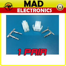 2 Pin Power Connector Molex Plug & Socket ESC RC Battery Male and Female