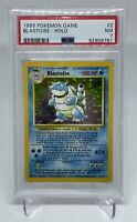 1999 Pokemon Base Set Unlimited Blastoise Holo 2/102 PSA 7 NEAR MINT