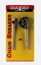 Daido Roller CHAIN BREAKER Steel Material For Sizes #25 - #60 Heavy Duty PE2560