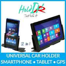 HolditR Perfect Mobile Phone and Tablet 10 inc Mount CD Car Aluminium Black