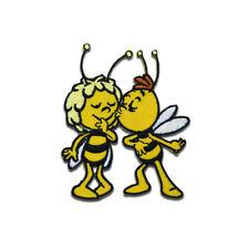 Aufnäher / Bügelbild - Biene Maja Willi Comic Kinder – gelb – 6,7x6,3cm