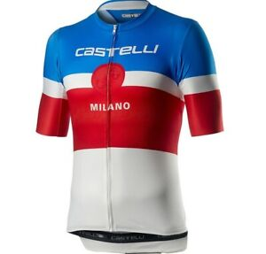 Cycling Jersey Castelli MILANO JERSEY Men's Short Sleeve