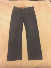 "Mens Timberland Straight Leg Black Jeans Size 34"" Waist, 32"" Leg Great Condition"