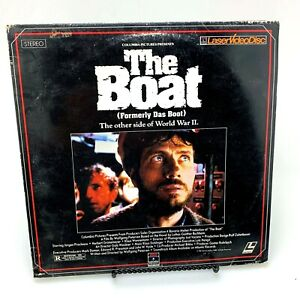 The Boat (Das Boot) Laserdisc | 2 Discs | English Dubbed | Stereo Extended Play