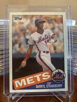1985 Topps Darryl Strawberry New York Mets #570