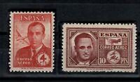 Sellos de España 1945 nº 991/992 Haya y Garcia Morato nuevos stamp Spain