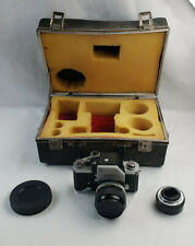 Nikon F Photomic FTN 35mm SLR Film Camera With Micro-Nikkor-P auto 1:3.5 55mm