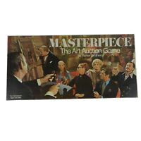 Vintage 1970 Parker Brothers Masterpiece The Art Auction Board Game Complete