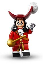LEGO Disney ** CAPTAIN HOOK ** Minifigure New & Sealed (71012) IN HAND