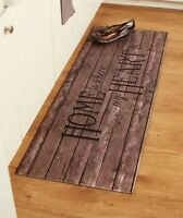 Sentiment Kitchen Runner Rug - Home Is Where My Heart Is