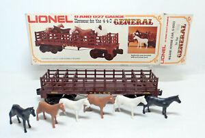 Lionel 6-9553 General Western & Atlantic Horse Car ~ O/O27