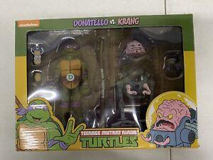 NECA Teenage Mutant Ninja Turtles Donatello vs Krang 2-Pack TMNT Figures