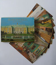 Set of 18 Postcards - Petrodvorets The Great Palace, 1986, USSR