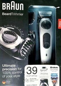 BRAUN -  Beard Trimmer - Beard Trimmer & Hair Clipper - Model BT5060 - BRAND NEW