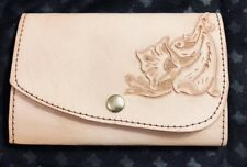 Leather Hand Tooled Pocket/Purse Journal