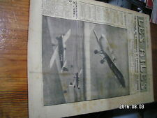 "1µ?  Revue Les Ailes ""Monde Aviation"" n°1393 Siege Ejectable SNCAS Fouga Midget"