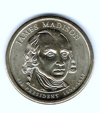 2007-D $1 James Madson Brilliant Uncirculated 4TH Presidential Dollar Coin!