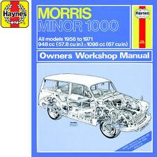 Haynes M0024 Morris Minor 1000 1.0 1.1 Petrol 56-71