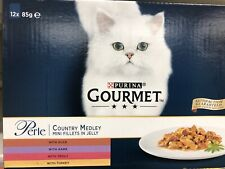 Gourmet Perle Country Medley 12 X 85g Mini Fillets In Jelly Brand New