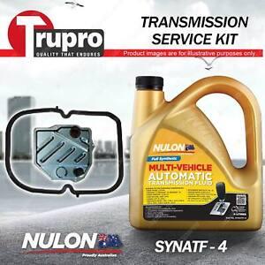 SYNATF Transmission Oil + Filter Kit for Mercedes Benz 180E 190E 230E 230TE