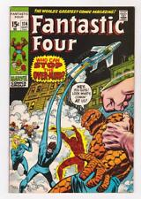 FANTASTIC FOUR 114 (VF/NM) THE OVER-MIND  (FREE SHIPPING) *