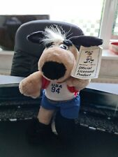 Fifa Wk voetbal 1994 Mascot Mascotte Maskottchen with tags
