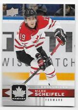 17/18 UPPER DECK TEAM CANADA SILVER UD EXCLUSIVES #113 Mark Scheifele #38/100