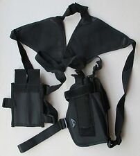Good Quality Shoulder Holster For Medium & large Pistols W/Mag. Pouches RH Draw