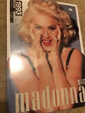 Vintage 1993 Madonna Calendar By Culture Shock from England NEW/SEALED