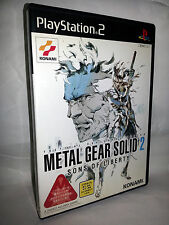 METAL GEAR SOLID 2 SONS OF LIBERTY USATO OTTIMO SONY PS2 JAP NTSC/J VBCJ 52883