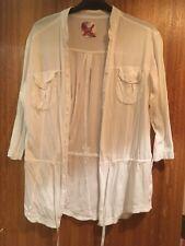 Next  16 Ladies Cotton Shirt Blouse Long Length