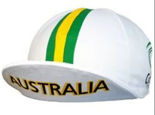 Australia Cycling Cap Italian Made By Apis - One Size - BNIB