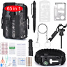 65PCS Emergency Survival First Aid Backpack Kit Outdoor Camping Hiking EDC Gear