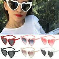 Women Lovely Heart Sunglasses Cat Eye Retro Gift Heart Shape Sun Glasses UV400