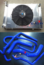 Aluminum Radiator &Shroud&Fan&HOSE Holden V8 Commodore VG VL VN VP VR VS AT/MT