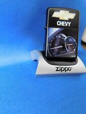 ZIPPO LIGHTER CHEVY SPEEDOMETER CHEVROLET CAR TRUCK LOGO 2006 SEALED