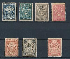 [8845] Nederland 1921 brandkast RARE set very fine MH stamps val $950